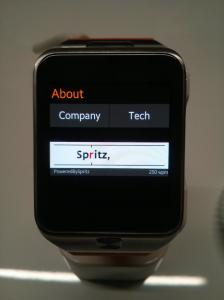 Spritz Watch